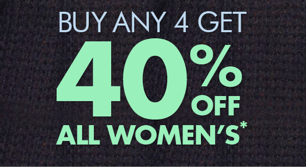 Save 40% off all women's buy any 4 itmes + free shipping Australia wide at Bonds.com.auBonds.com.au